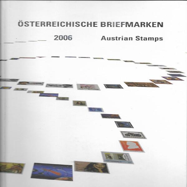 Marken Jahrbuch der Post 2006 Österreich