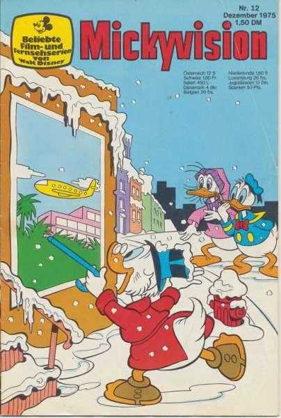 Mickyvision Heft Nr. 12/1975