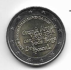 2 Euro Slowenien 2020 Adam Bohoric