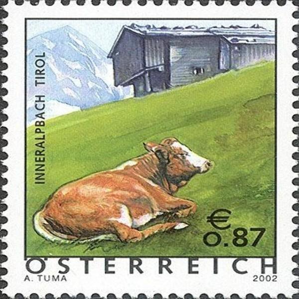 ANK 2400 Ferienland Österreich: Inneralpbach / Tirol 0,87 €