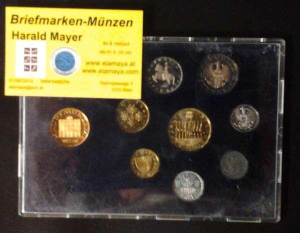 1980 Jahressatz Kursmünzensatz KMS Mintset
