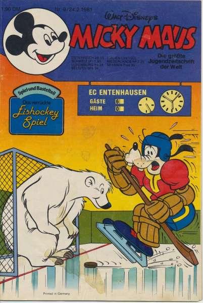Micky Maus Nr. 9/1981