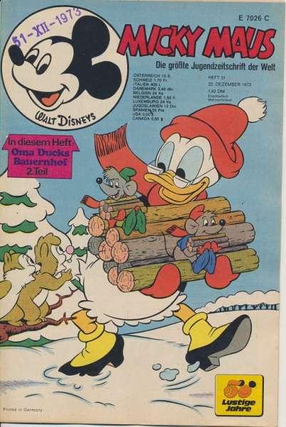 Micky Maus Nr. 51/1973