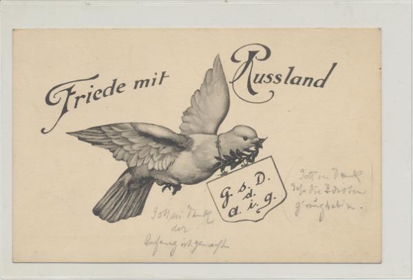 Friede mit Russland G.s.D.a.i.g. Wien