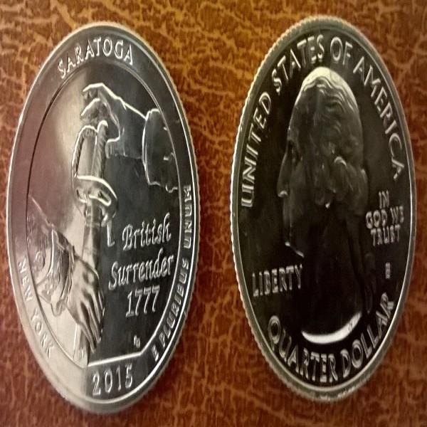 USA 25 Cent 2015 S Saratoga National Historical Park (30)