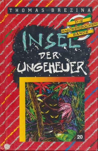 """Die Knickerbocker Bande Nr. 20 """" Insel der Ungeheuer """" 2 Auflage 1992"""