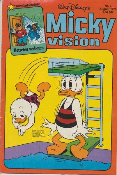 Mickyvision Heft Nr. 8/1979