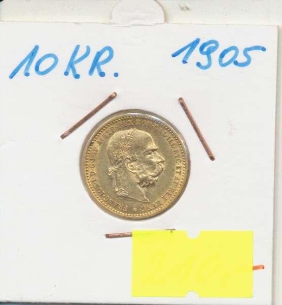 10 Kronen 1905 Franz Joseph I Gold