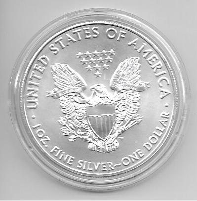 1 Dollar 2021 Silber Eagle Unze Altes Motiv Selten