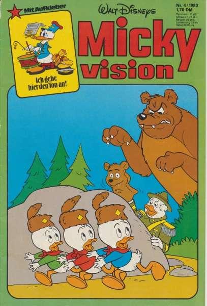 Mickyvision Heft Nr. 4/1980