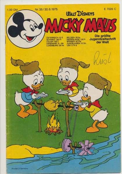 Micky Maus Nr. 35/1975