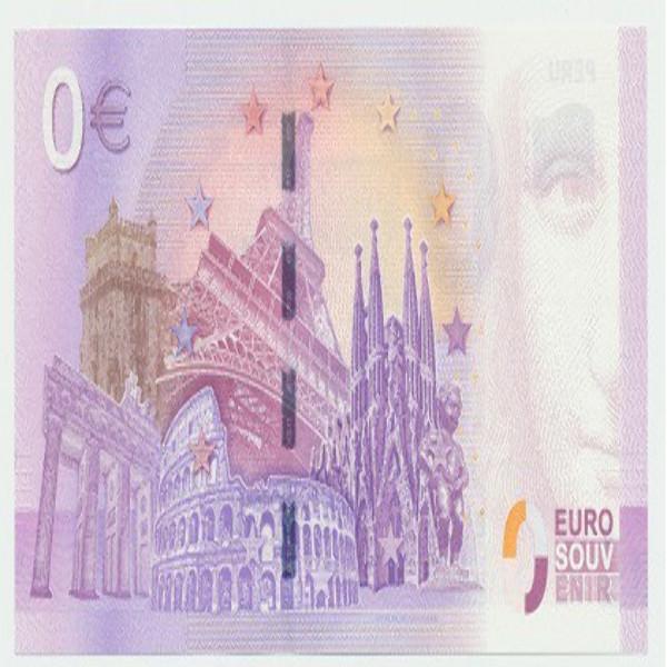 0 Euro Schein 2019-2 Roter Sand Leuchtturm - Unc
