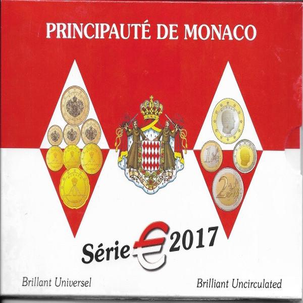 Monaco Kursmünzen Set 2017 Rainer KMS Coinset