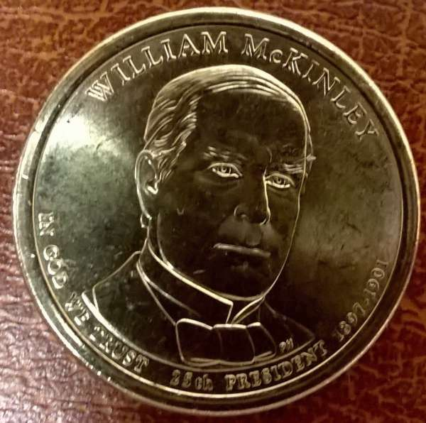 USA 1 Dollar 2013 D William Mc Kinley(25)
