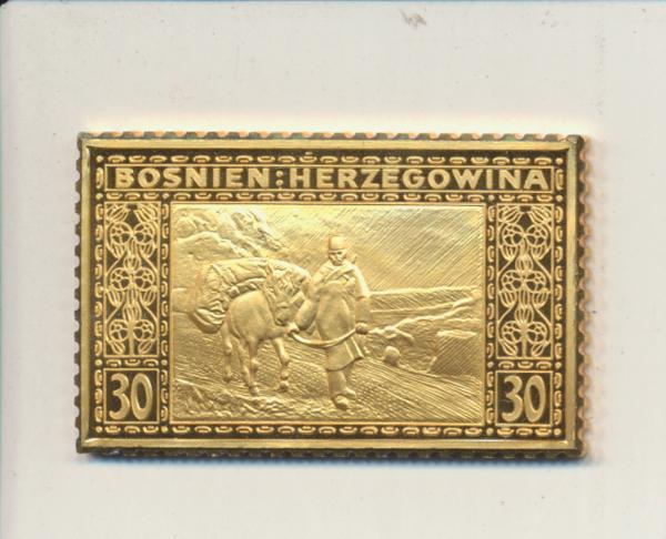 K&K Jubiläums Collection K&K Landschaftsserie 30 Heller 1906 Silber Gold