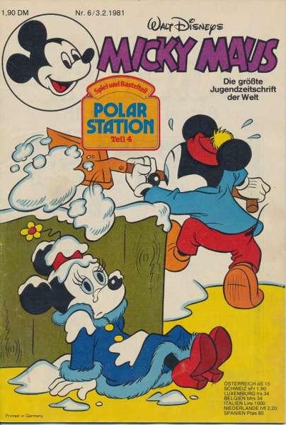 Micky Maus Nr. 6/1981