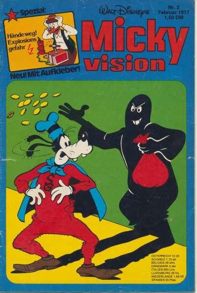 Mickyvision Heft Nr. 2/1977