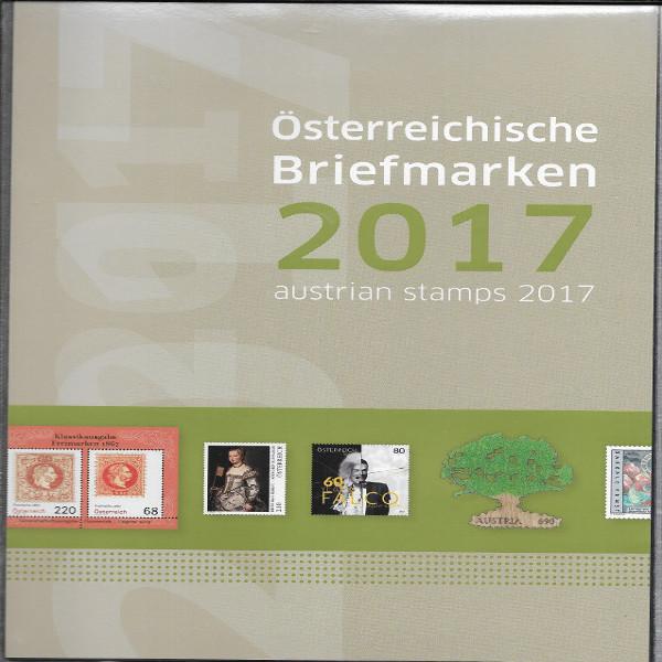 Marken Jahreszusammenstellung der Post 2017