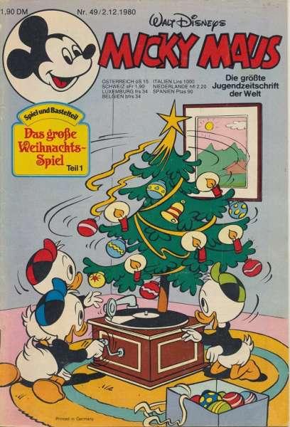 Micky Maus Nr. 49/1980