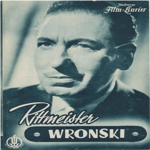 Illustrierter Film - Kurier Rittmeister Wronski Nr 2037/1954