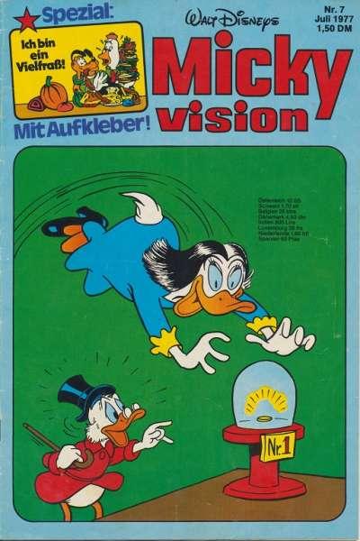 Mickyvision Heft Nr. 7/1977