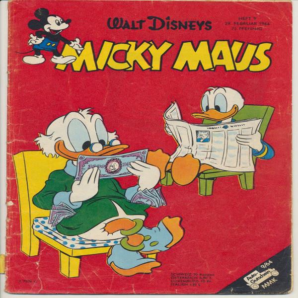 Micky Maus Nr. 9 /1964