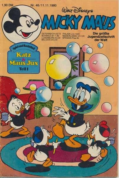 Micky Maus Nr. 46/1980