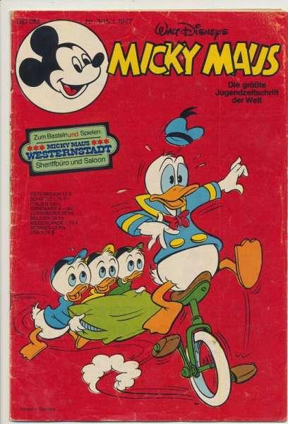 Micky Maus Nr. 3/1977