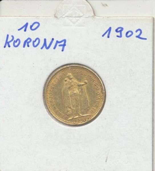 10 Korona 1902 KB Franz Joseph I Gold