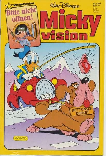 Mickyvision Heft Nr. 5/1985