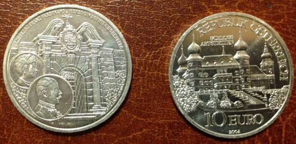 10 Euro Silber 2004 Schloss Artstetten lose ANK Nr. 06