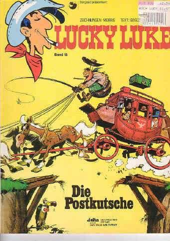 Lucky Luke Band 15 Die Postkutsche