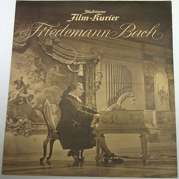 Illustrierter Film - Kurier Friedemann Bach