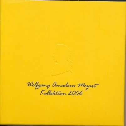 Österreich Wolfgang Amadeus Mozart Kollektion 2006 philatelistische Hommage mit CD