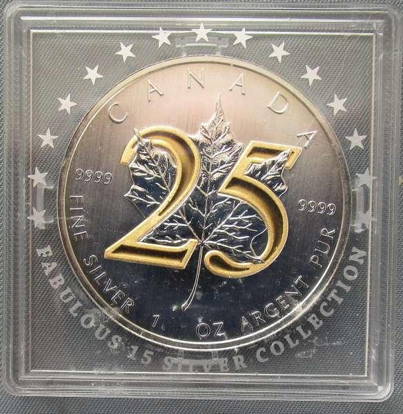 CANADA 1 Unze 5 DOLLAR Canada Dollar 2013 Maple Leaf 24 Karat