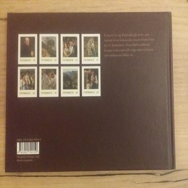 Briefmarkenbuch Ferdinand Georg Waldmüller mit 8 exklusiven Marken