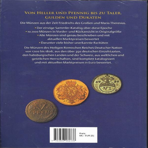 Deutscher Münzkatalog 1700-1806 Battenberg 5. Auflage 2019