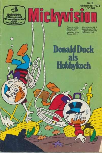 Mickyvision Heft Nr. 9/1975