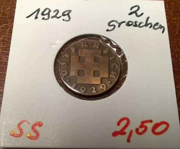 2 Groschen 1929
