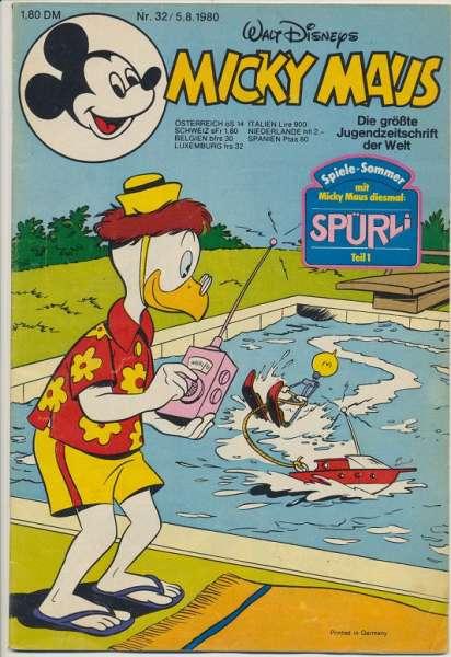 Micky Maus Nr. 32/1980