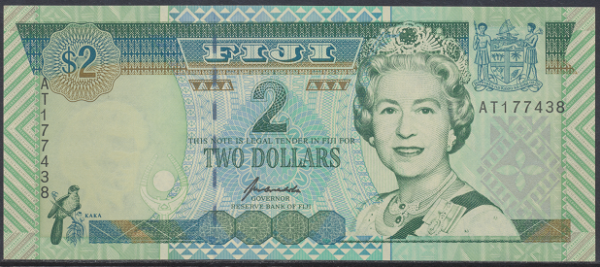 Fiji - 2 Dollars 1996 UNC - Pick 96