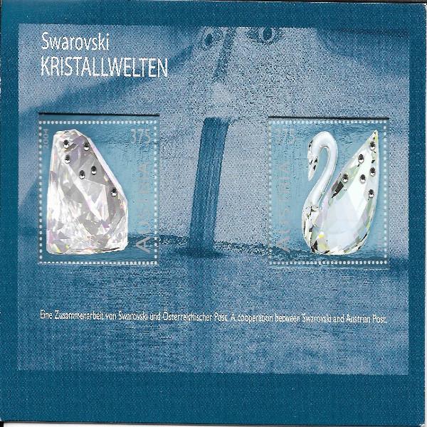 Austria Österreich Kristalwelten SWAROVSKI 2004 ANK 2529/30 Postfrisch