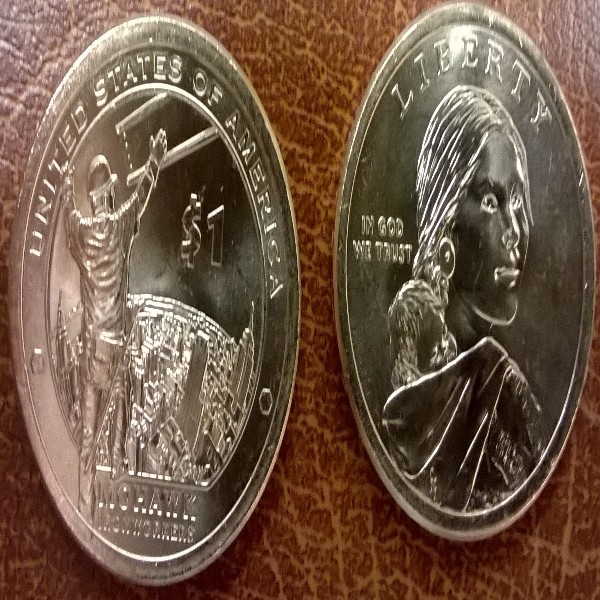 1 Dollar USA 2015 D Sacagawea - Nativ Dollar