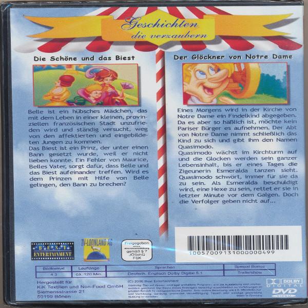 Geschichten die verzaubern Die Schöne und das Biest+Der Glöckner von Notre Dame DVD