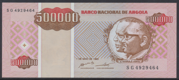 Angola - 500.000 Kwanzas 1995 UNC - Pick 140