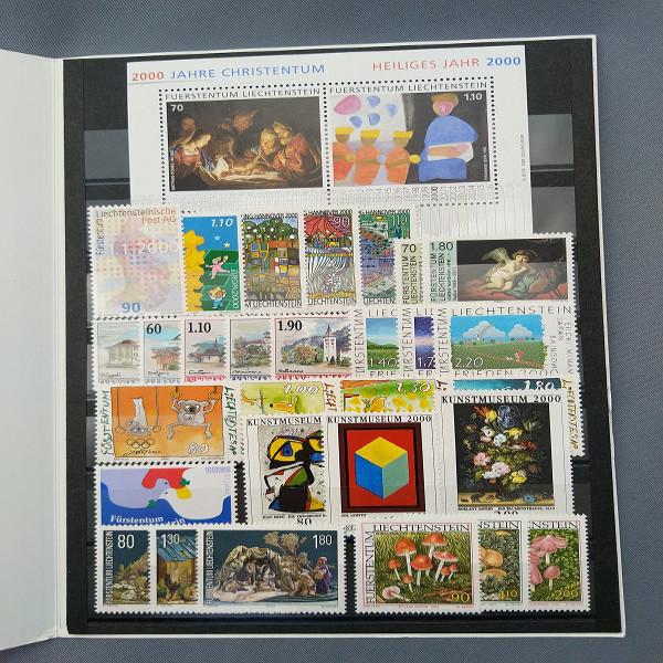 Liechtenstein 2000 Jahresmappe postfrisch