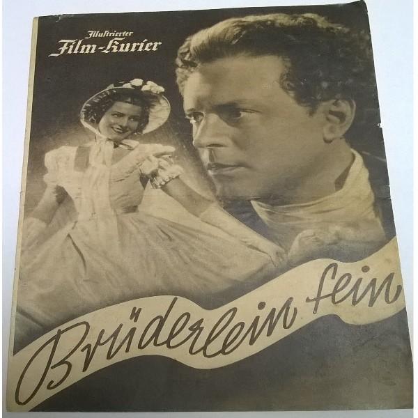 Illustrierter Film - Kurier Brüderlein fein