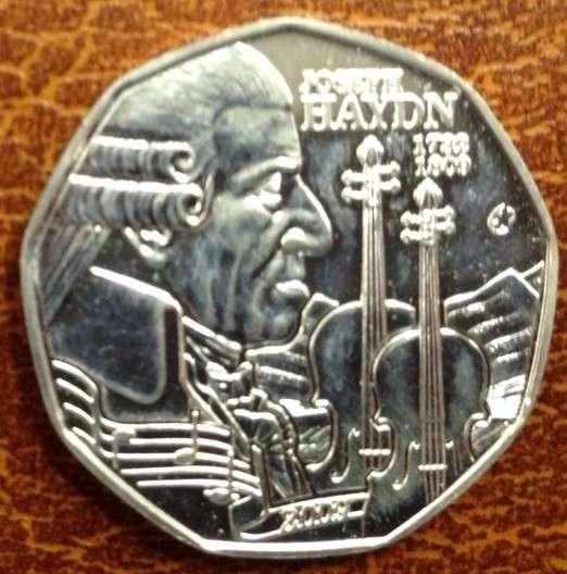 5 Euro Silber 2009 Haydn lose ANK Nr.14
