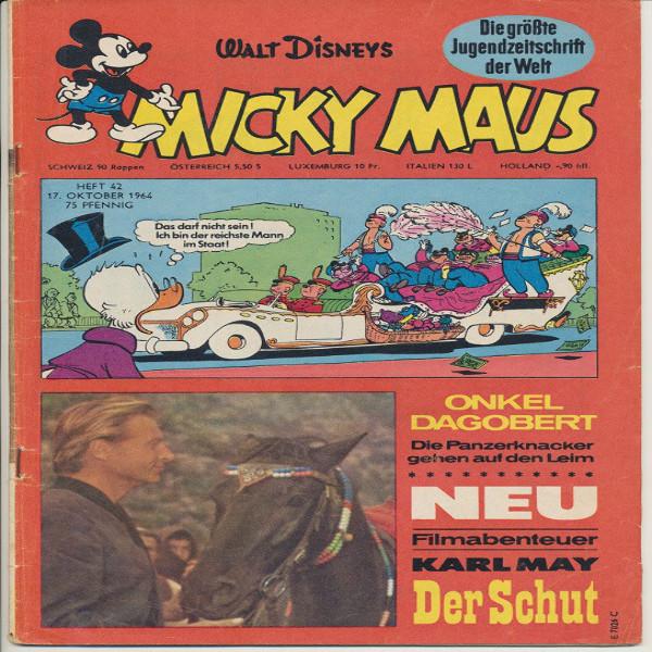 Micky Maus Nr. 42 /1964