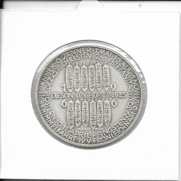 1966 Kalendermedaille Jahresregent Bronze versilbert